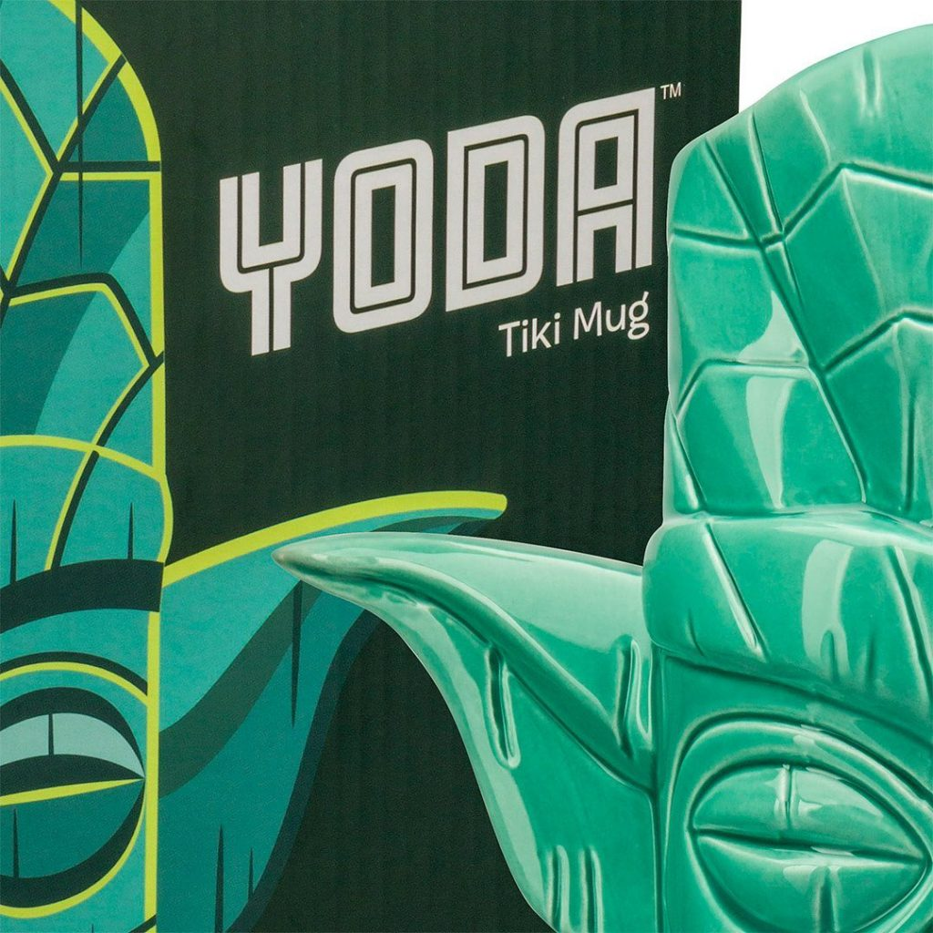 Yoda Tiki Mug by Shag