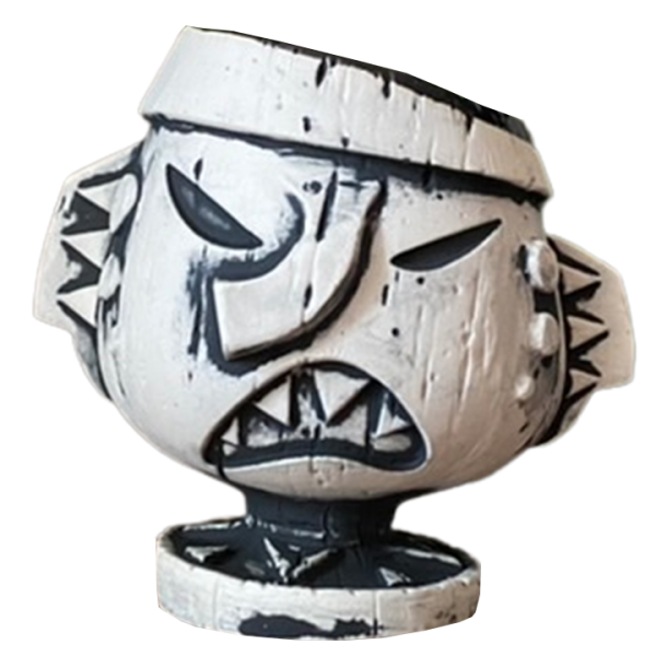 Back - Driftwood First Draft Mug - The Lost Idols Co. - Limited Edition
