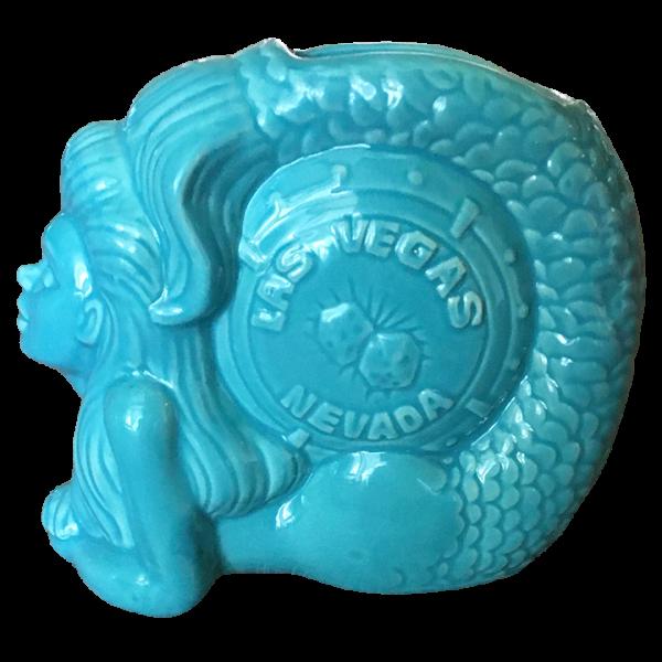 Back - Mermaid - The Golden Tiki - Blue Edition