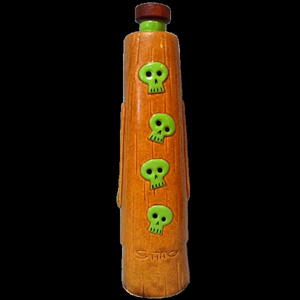 Back - Moatu Decanter (Skull) - Tiki Farm - Limited Edition