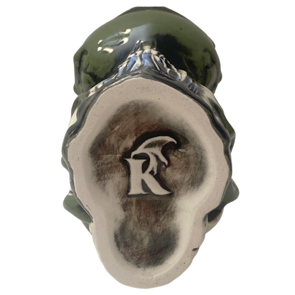 Bottom - Cthulhu Octopus Skull Mug - Kachaktano - Green Edition