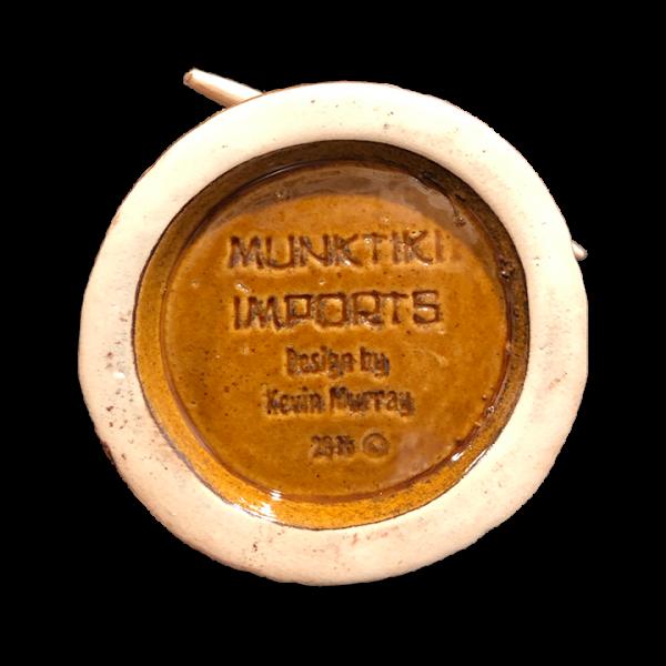 Bottom - Tribal Warrior With Skull - Munktiki - Limited Edition