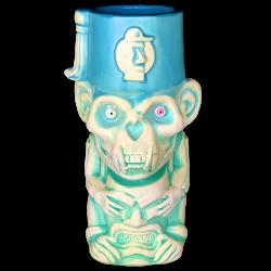 Front - 3rd Anniversary Mug (Monkey) - Tiki Underground - 2nd Run Blue Glaze