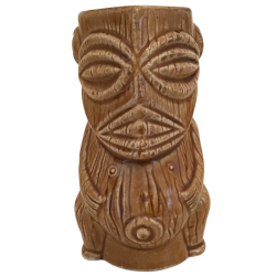 Front - Dios Tiki - C Martinu - Dark Brown Edition