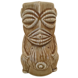 Front - Dios Tiki - C Martinu - Medium Brown Edition