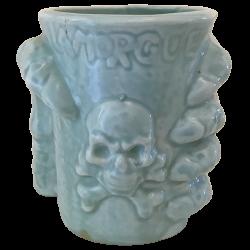 Front - Skeleton Hand - La Morgue - Blue Edition