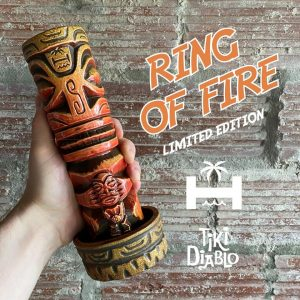 Marquesan Idol Mug in Ring of Fire