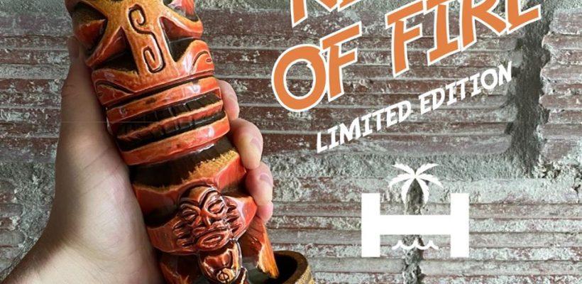 Marquesan Idol Mug in Ring of Fire