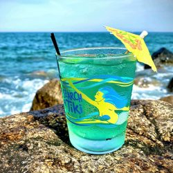 Mermaid Mai Tai Glass