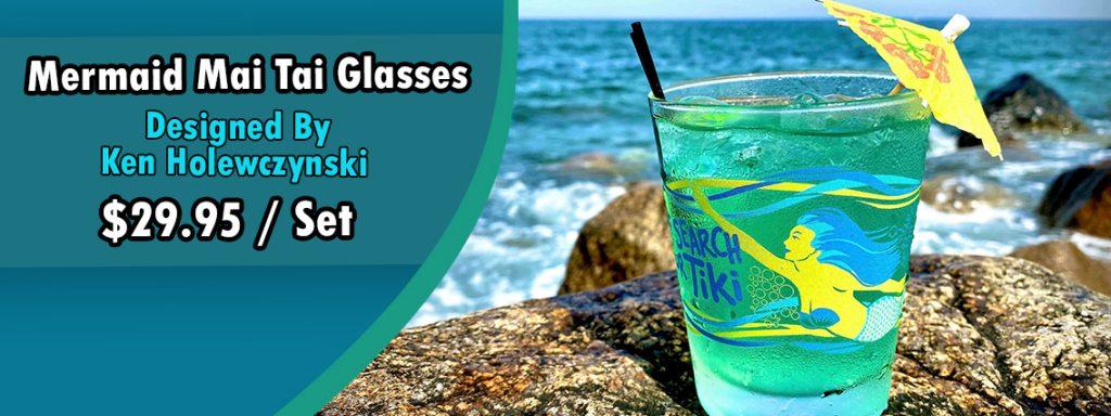 Mermaid Mai Tai Glasses