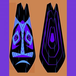 New Tiki Mug Design by B-Rex