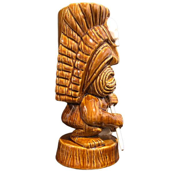 Side - Tribal Warrior With Skull - Munktiki - Limited Edition