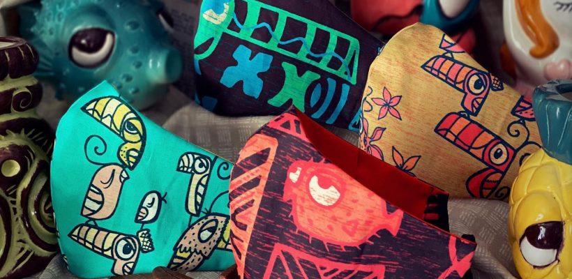 Tiki Tony Mask Collection