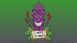 13 Nights of Tiki Frights Logo