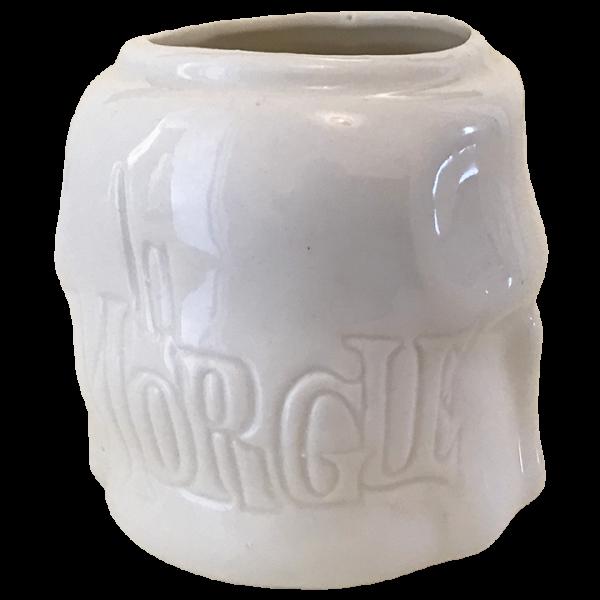 Back - Skull - La Morgue - White Edition