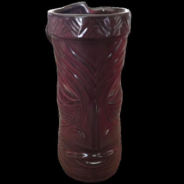 Back - Temple Mug - Tiki Farm - Dark Red Edition