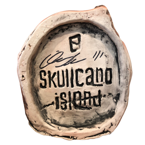 Bottom - Skullcano Island - Oakwash - Artist Proof