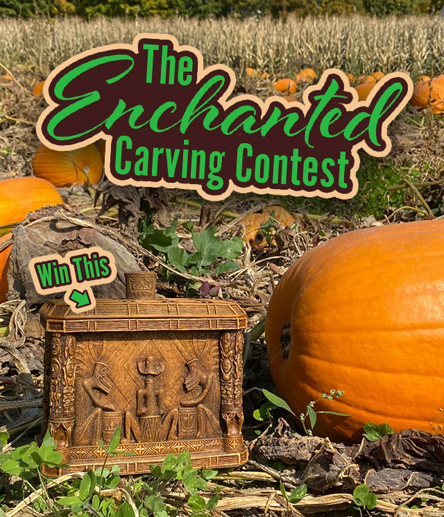 Enchanted Carving Contest Mobile Banner