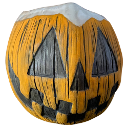 Front - Jack-O-Lantern Coconut Mug - Jungle Modern Ceramics - White Lip Edition