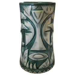 Front - Kon Tiki Oakland Mug (Witco Mask) - Kon Tiki - Teal Edition