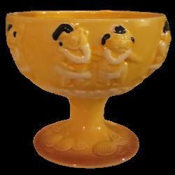 Front - Menehune Bowl - Trader Vic's - Yellow Edition
