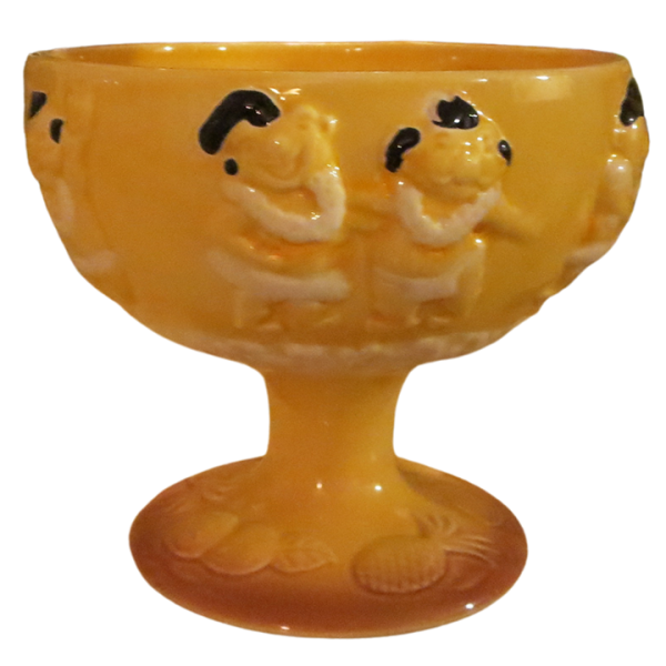 Front - Menehune Bowl - Trader Vic's - Yellow Edition