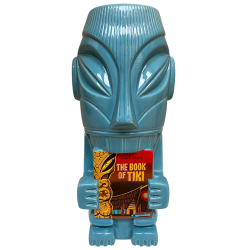 Front - Mr. Cannibal (Book of Tiki 20 Year Commemorative Tiki Mug) - Original Tiki Marketplace - Blue Edition
