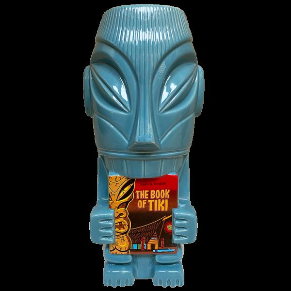Front - Mr. Cannibal (Book of Tiki 20 Year Commemorative Tiki Mug) - Original Tiki Marketplace - Blue Edition