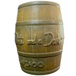 Front - Rum Barrel - Three Dots and a Dash - 1st Edition