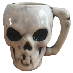 Front - Skull Mug - Grass Skirt Tiki Room - Open Edition