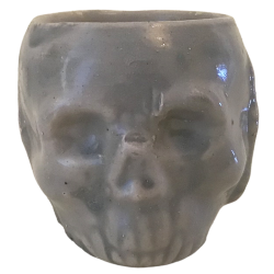 Front - Skull Shot - La Morgue - Grey Edition