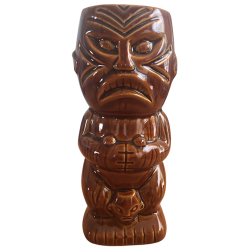 Front - The Catcher (Cannibal Trio) - Thatch Tiki Bar - Brown Edition