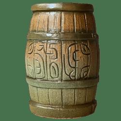 Front - Tikibyte's Birthday Rum Barrel - Tiki Diablo - Green Edition