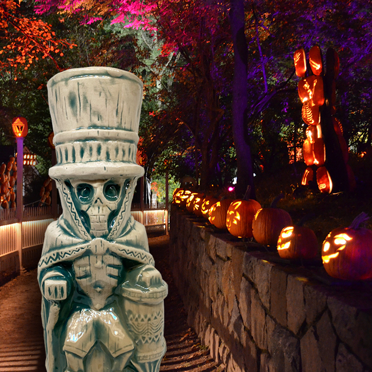 Halloween Tiki Mugs