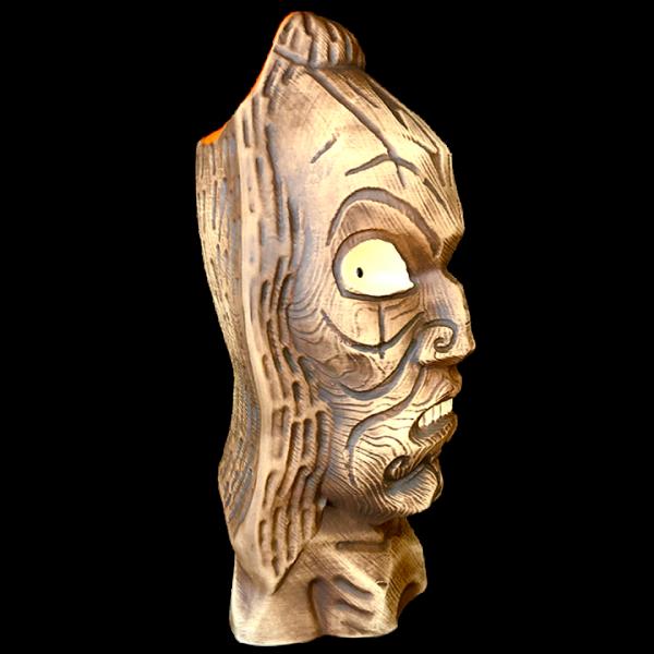 Side - Mystical Shaman Relic Mug with Follow Me Eyes - UnderTow - 1st Edition