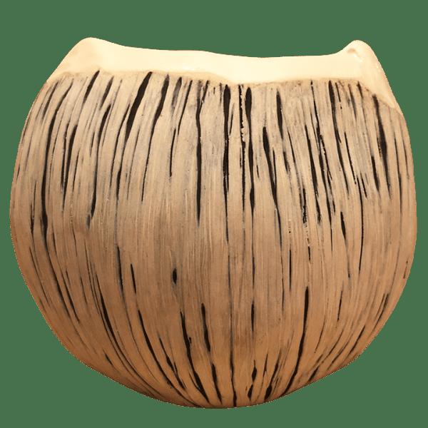Back - Jack-O-Lantern Coconut Mug - Jungle Modern Ceramics - Jack Skellington Edition