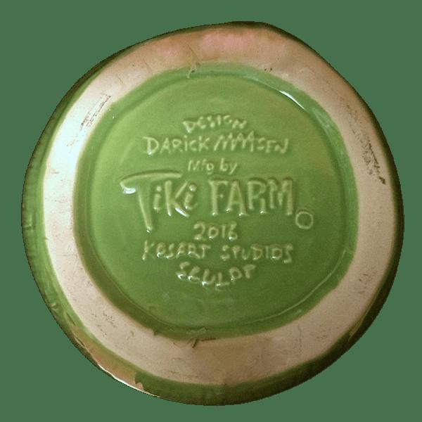 Bottom - Coconut Mug - Three Dots and a Dash - 1st Edition