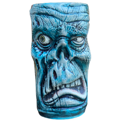 Front - Rutherford Zombie Mug - Pie Eyed Tikis - Blue Edition