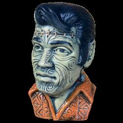 Front - The King Tā Moko (Elvis) - Esotico Miami - Frankenstein (5th) Edition
