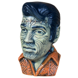 Front - The King Tā Moko (Elvis) - Esotico Miami - Frankenstein (5th) Edition