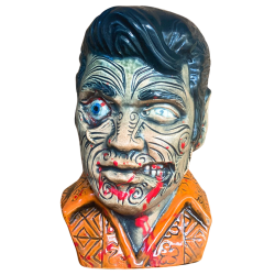 Front - The King Tā Moko (Elvis) - Esotico Miami - Zombie (6th) Edition