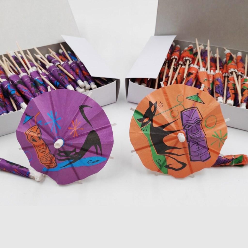 Naughty Cat Cocktail Umbrellas 2.0