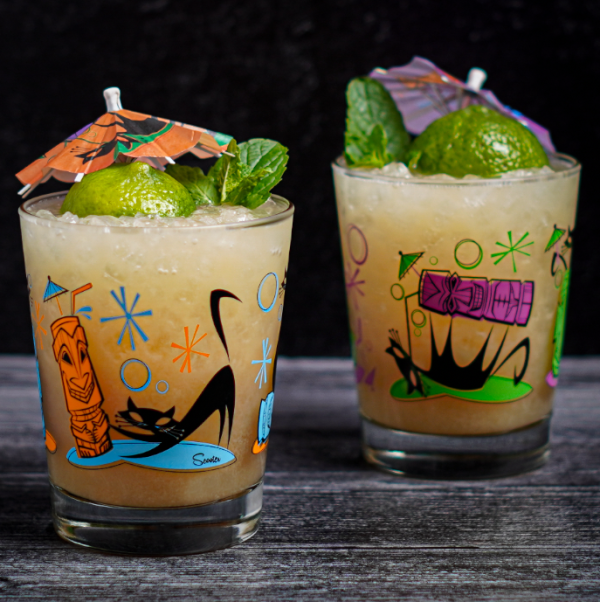 Naughty Cat Mai Tai Glass Set
