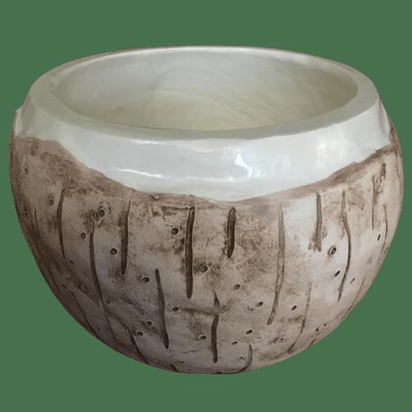 Back - Coconut Mug - Tonga Hut - 2012 Edition