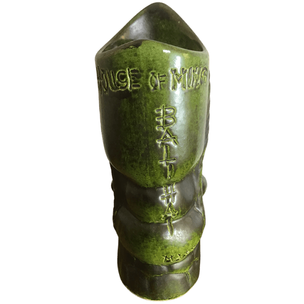 Back - Tiki From Spain - House of Ming - Green Edition