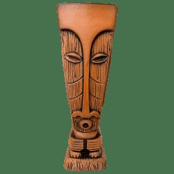 Front - Tiki Oasis Arizona 2020 Mug - Tiki Oasis - Terra Cotta Orange Edition