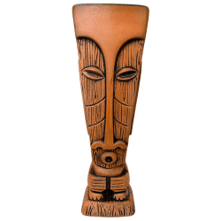 Front - Tiki Oasis Arizona 2020 Mug - Tiki Oasis - Terra Cotta Orange Edition