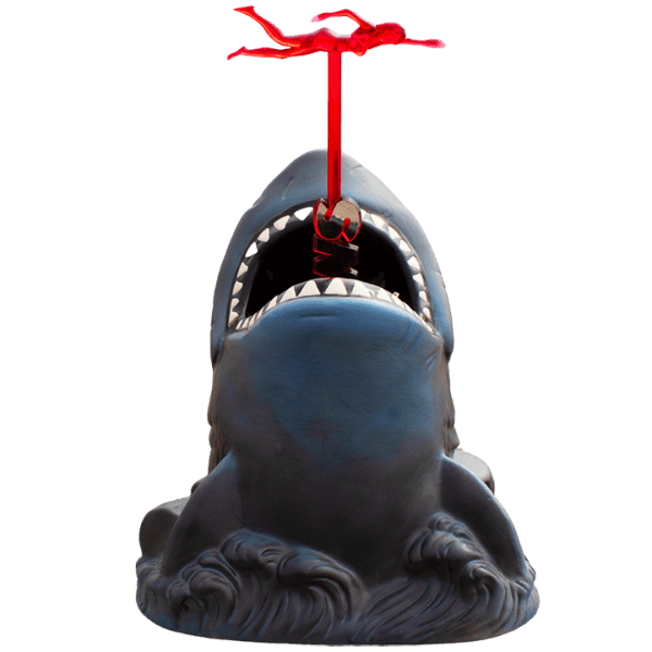 Front With Swizzle - Bruce the Shark from Jaws - Mondo - Poster Variant