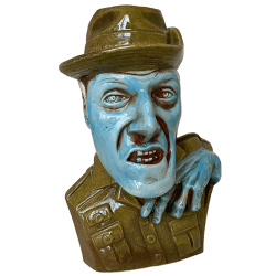 Front - Zombie Severed Skipper - Lost Temple Traders - Limited Edition