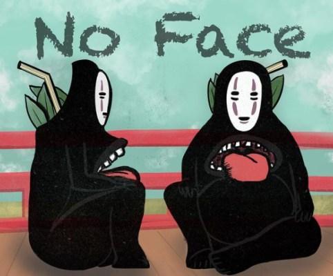 No Face Tiki Mug Design